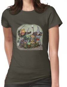 Fellowship of the Muppets Womens Fitted T-Shirt