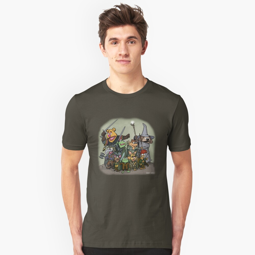 Fellowship of the Muppets Unisex T-Shirt Front