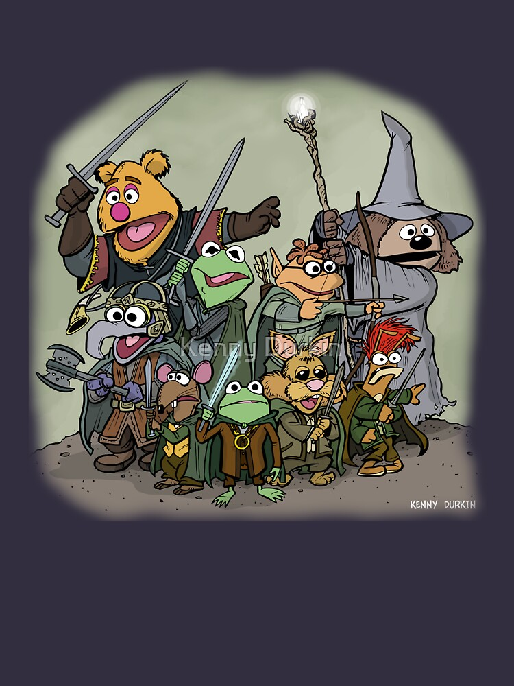 Fellowship of the Muppets by Durkinworks