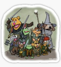 Fellowship of the Muppets Sticker