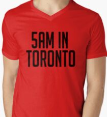 5AM In Toronto Mens V-Neck T-Shirt
