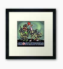 Ghostmuppers Framed Print