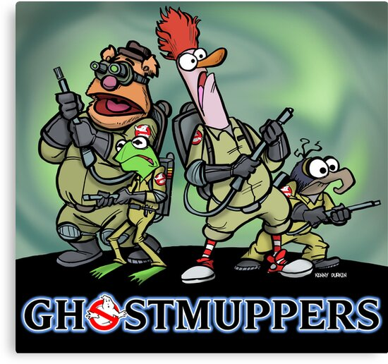 Ghostmuppers by Kenny Durkin