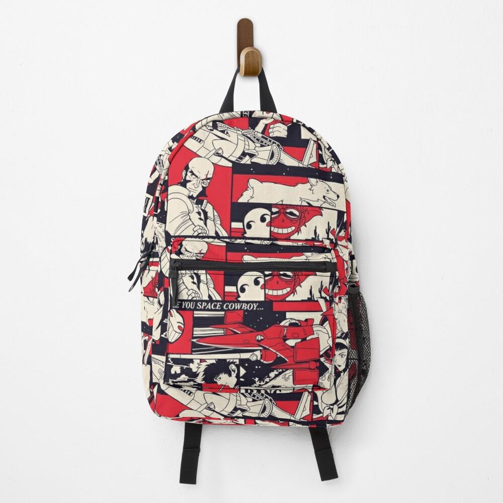 Bebop Pattern Backpack