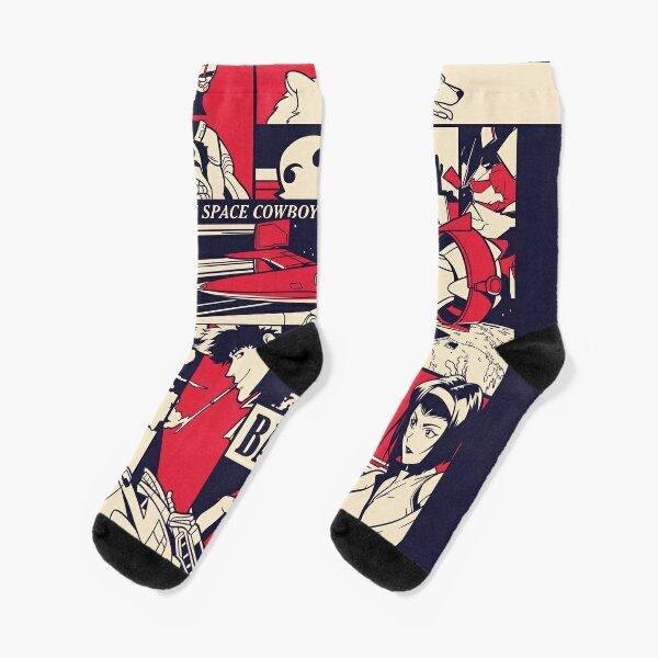 Bebop Pattern Socks