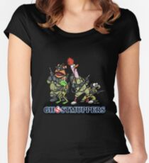Ghostmuppers Women's Fitted Scoop T-Shirt