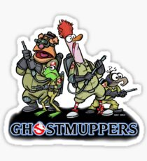 Ghostmuppers Sticker