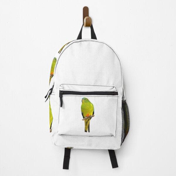 Orange-bellied Parrot Backpack