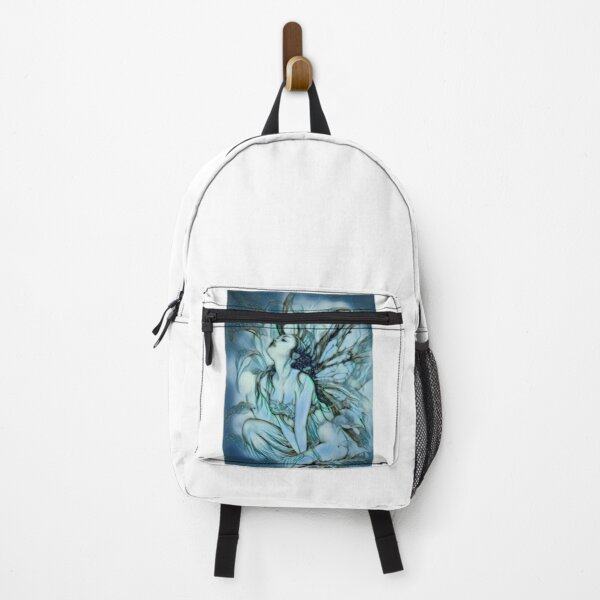 Angel in heaven pencil sketch art Backpack