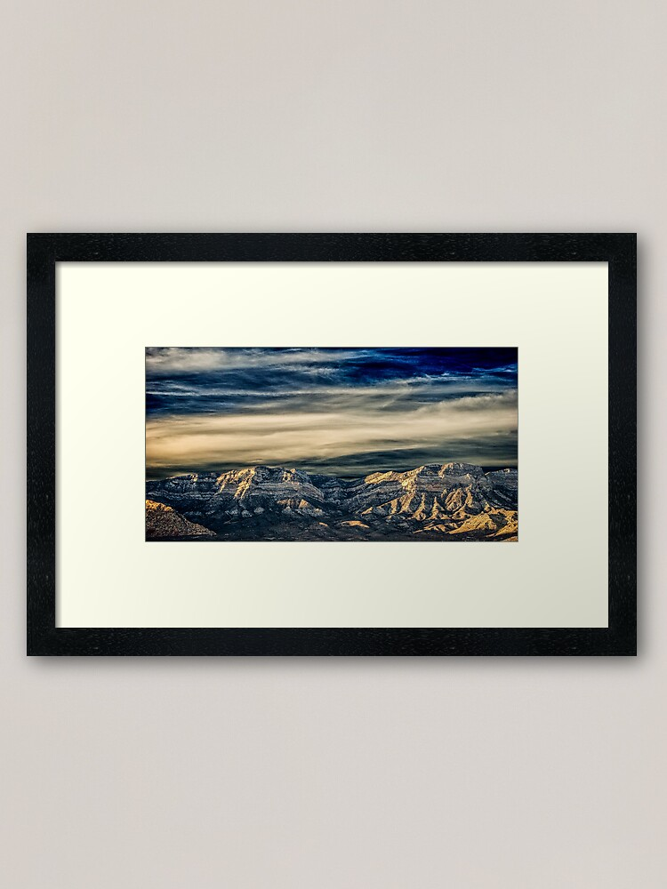 Alternate view of Fly Away With Me - Nevada Sunset Framed Art Print