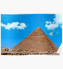 Cheops Pyramid5. Poster