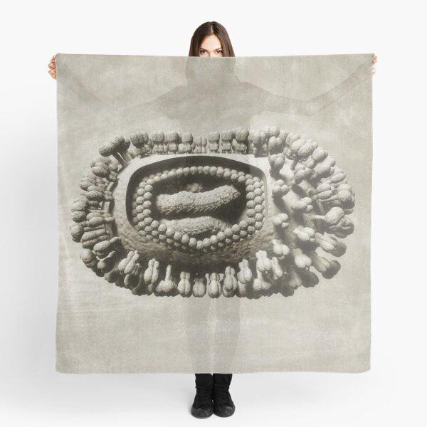 Ancient Flu Virus Scarf