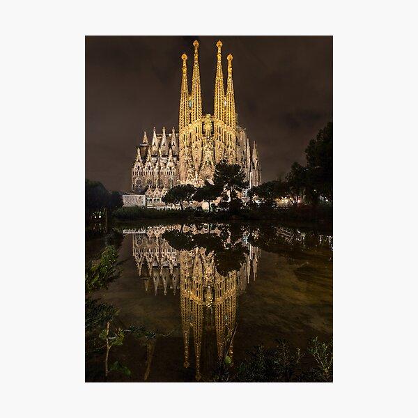 Ein Meisterwerk - Barcelona Fotodruck