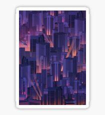 Midnight City Sticker