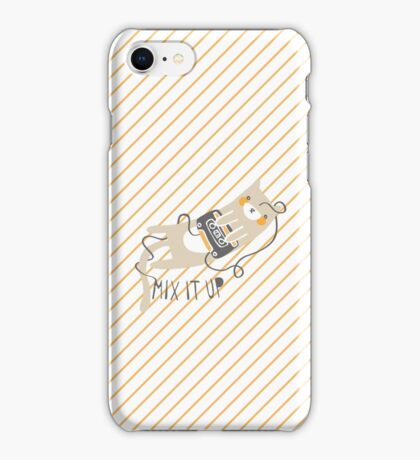 Mixtape Kitty iPhone Case/Skin