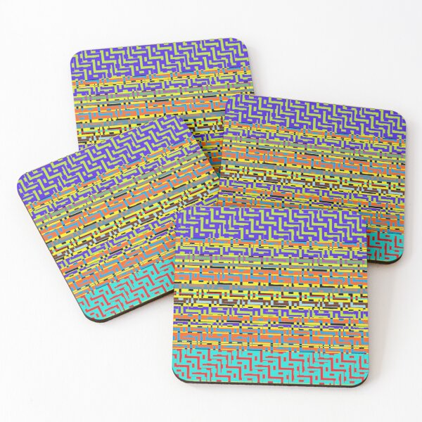 iLLusion Coasters (Set of 4)