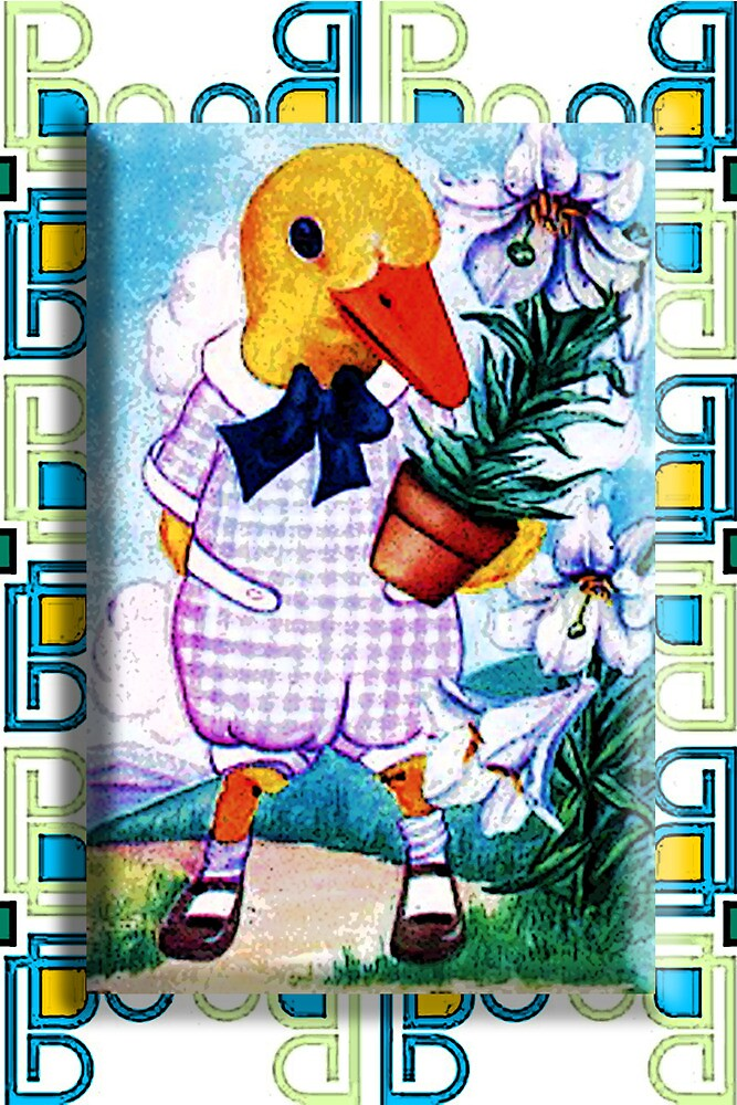 EASTER DUCKY by Tammera