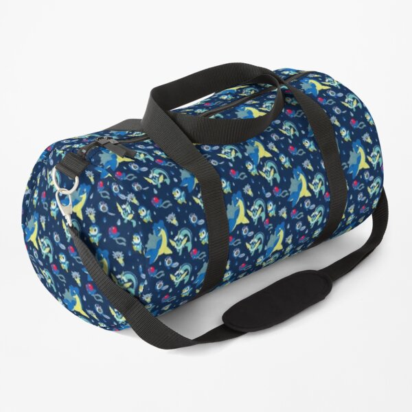 Water Pkmn pattern Duffle Bag