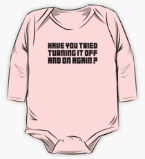 Turning It Off One Piece - Long Sleeve