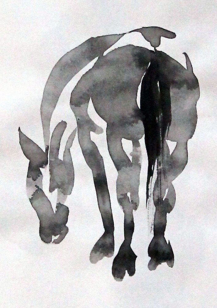 Ink Horse by Sylvia  Hollis