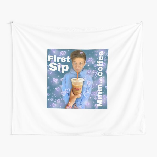 wes10 first sip Tapestry