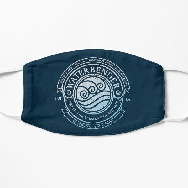 Waterbender Symbol: Avatar-Inspired Design v2 Mask