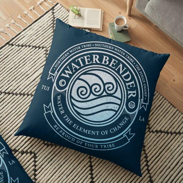 ATLA Waterbender Symbol: Avatar The Last Airbender Inspired-Design Floor Pillow