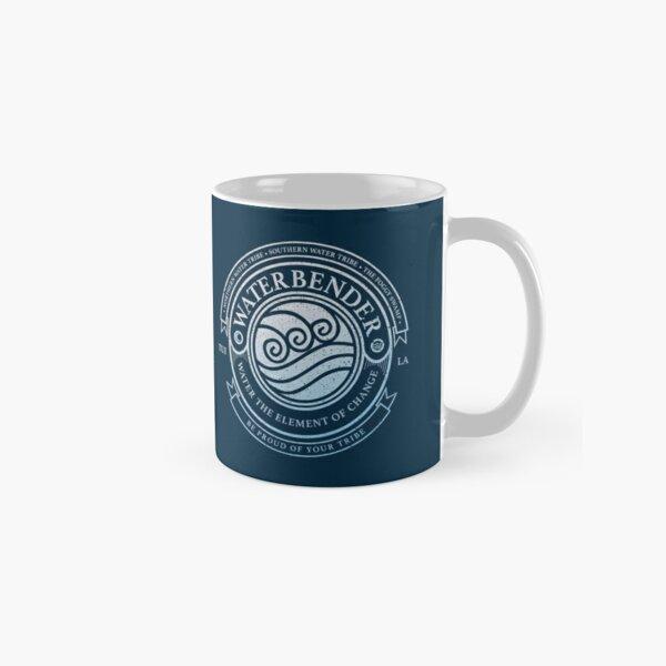 Waterbender Symbol: Avatar-Inspired Design v2 Classic Mug