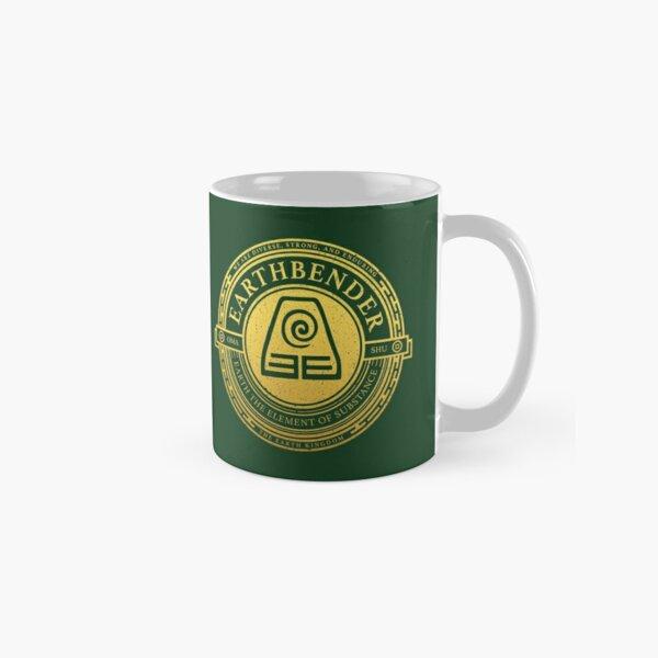 ATLA Earthbender Symbol: Avatar-Inspired Design Classic Mug