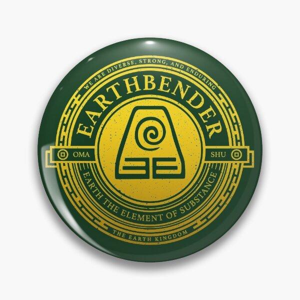 ATLA Earthbender Symbol: Avatar-Inspired Design Pin