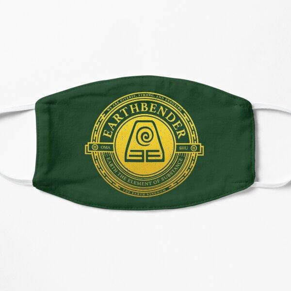 Earthbender Symbol: Avatar-Inspired Design v2 Mask