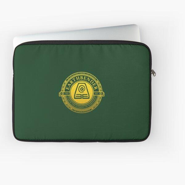 Earthbender Symbol: Avatar-Inspired Design v2 Laptop Sleeve