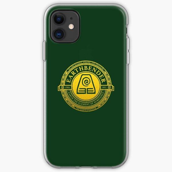 Earthbender Symbol: Avatar-Inspired Design v2 iPhone Soft Case