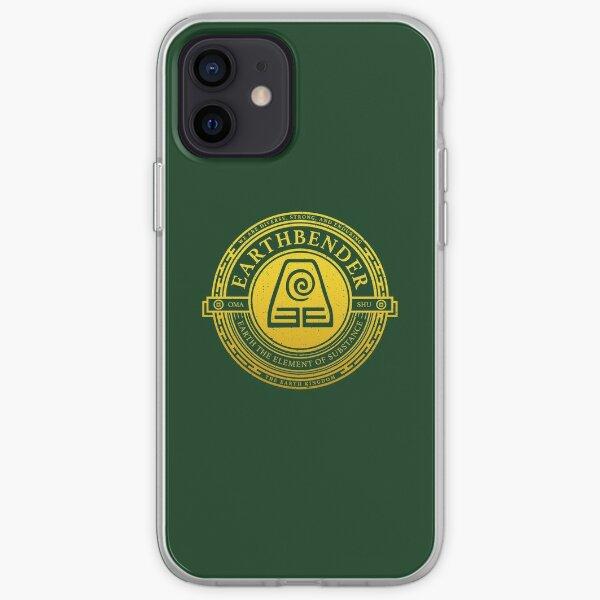 ATLA Earthbender Symbol: Avatar-Inspired Design iPhone Soft Case