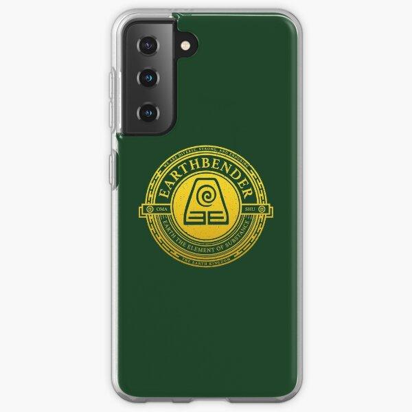 ATLA Earthbender Symbol: Avatar-Inspired Design Samsung Galaxy Soft Case