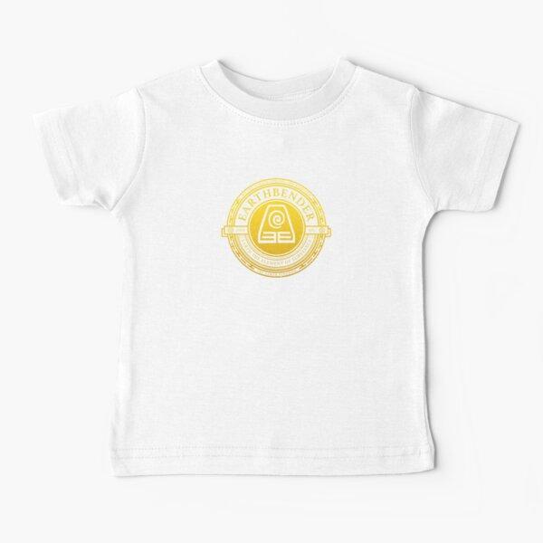 Earthbender Symbol: Avatar-Inspired Design v2 Baby T-Shirt