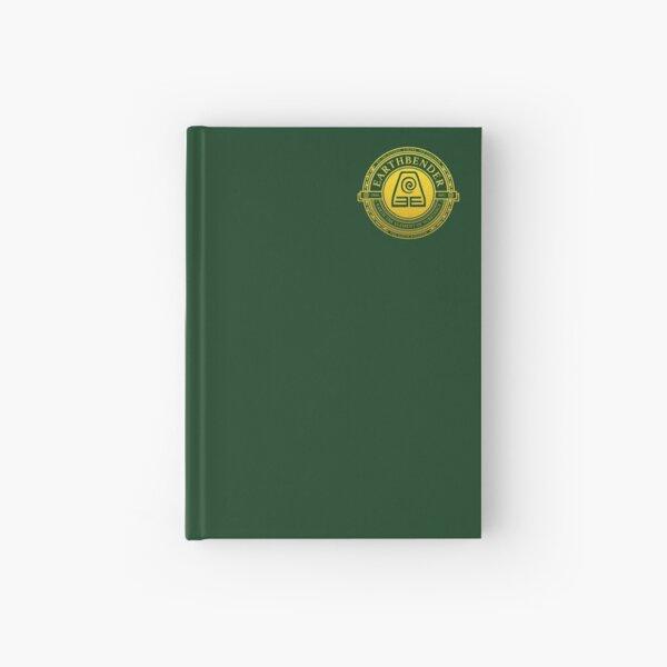 Earthbender Symbol: Avatar-Inspired Design v2 Hardcover Journal
