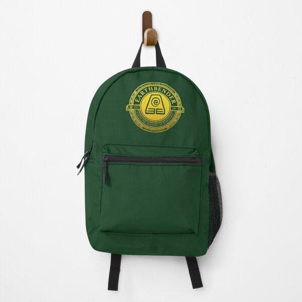 ATLA Earthbender Symbol: Avatar-Inspired Design Backpack