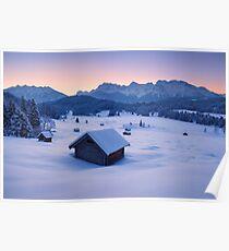 Frozen Dawn Poster