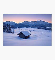 Frozen Dawn Photographic Print