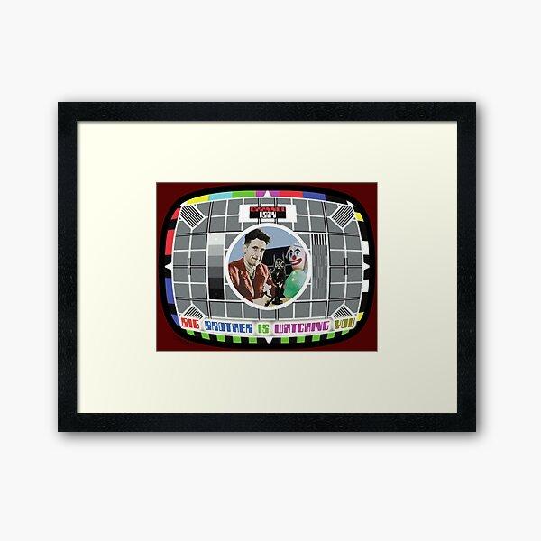 MINITRUE TV Framed Art Print