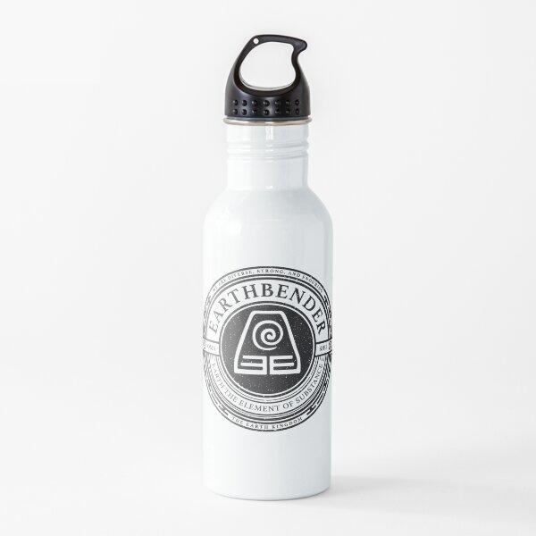 ATLA Earthbender Symbol: Avatar-Inspired Design Water Bottle