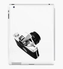 Digital camera isolated on white background DSLR on T-Shirt iPad Case/Skin