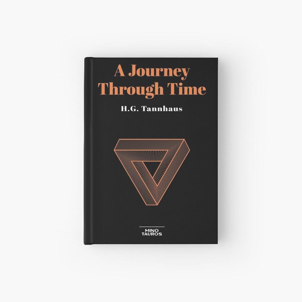 A journey through time - H.G. Tannhaus Book DARK Hardcover Journal