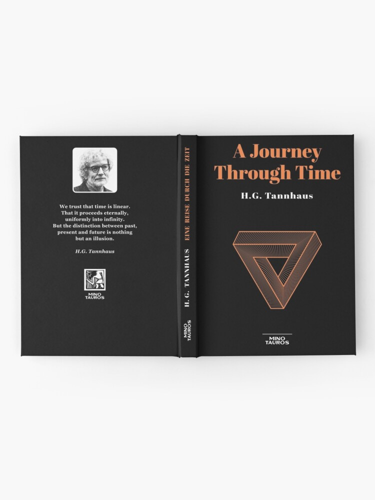 Alternate view of A journey through time - H.G. Tannhaus Book DARK Hardcover Journal