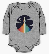 Up Long Sleeve Baby One-Piece