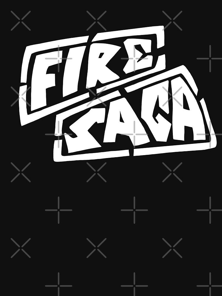 Eurovision Fire Saga Sigrit and Lars Husavik song contest logo  by GabriellaParadi
