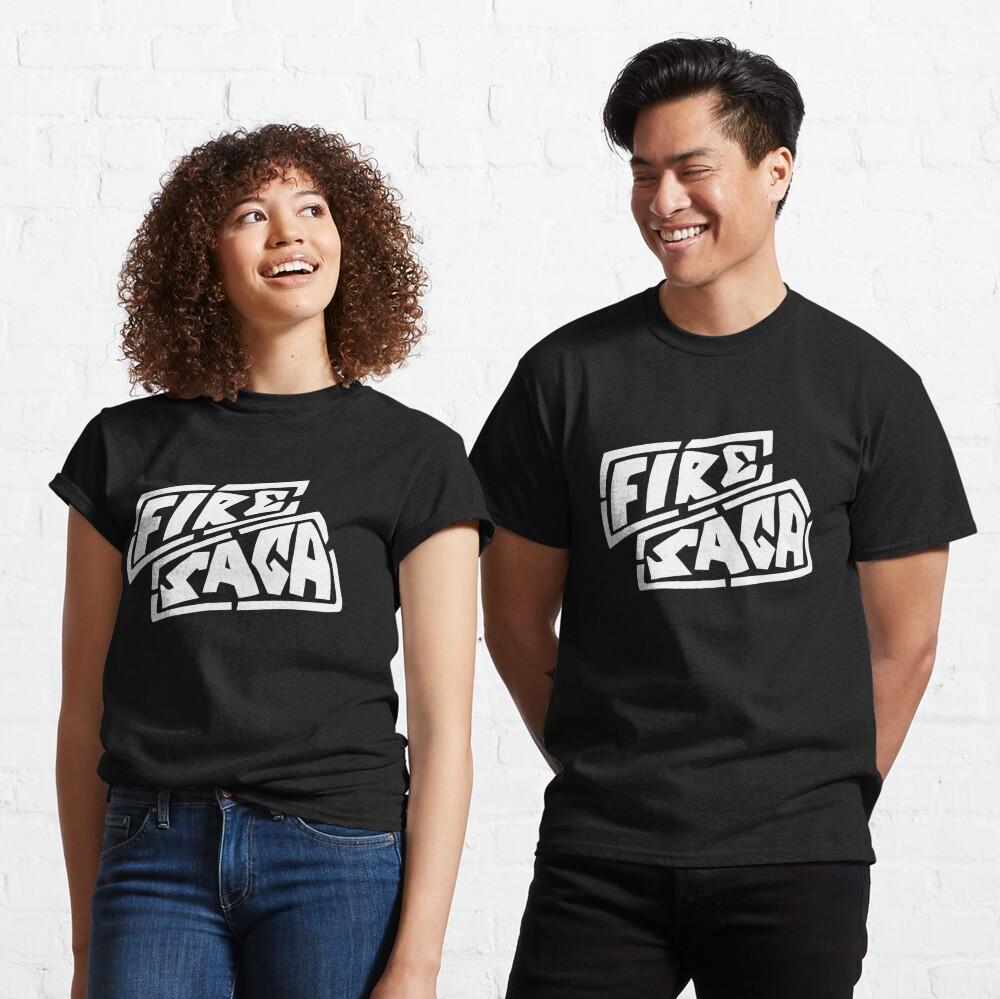Eurovision Fire Saga Sigrit and Lars Husavik song contest logo  Classic T-Shirt