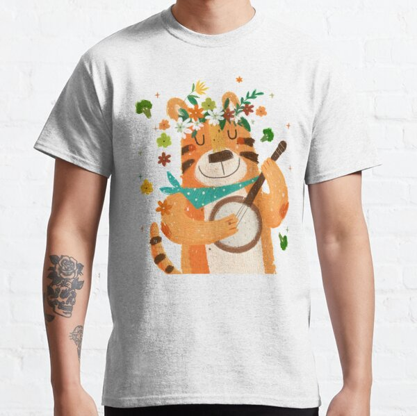 """""""eat the broccoli"""" sing the tiger Classic T-Shirt"""