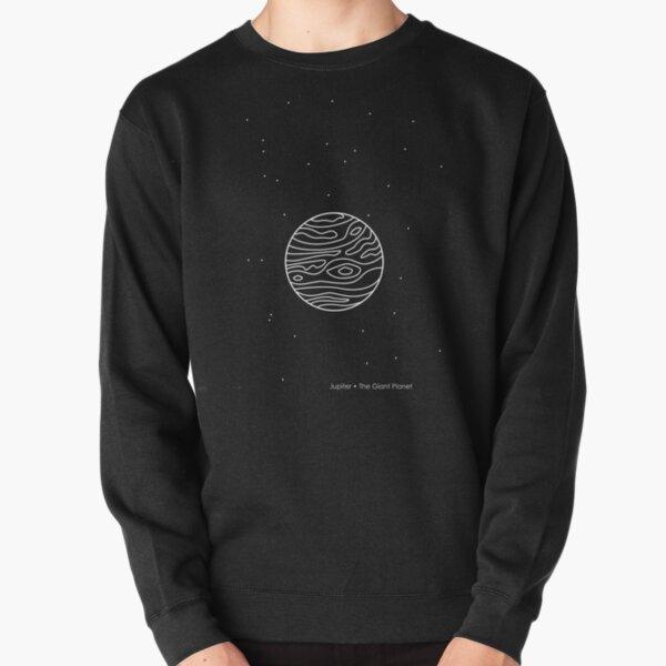 Planet Jupiter Pullover Sweatshirt